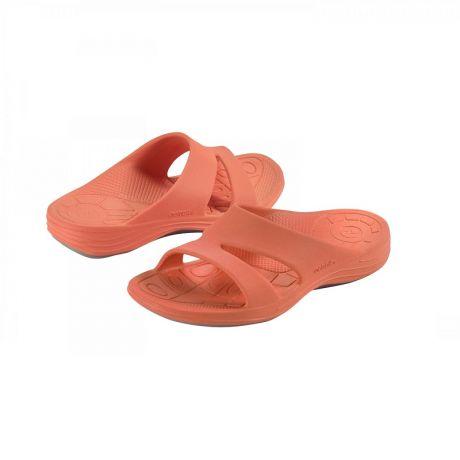Дамски ортопедични чехли цвят корал