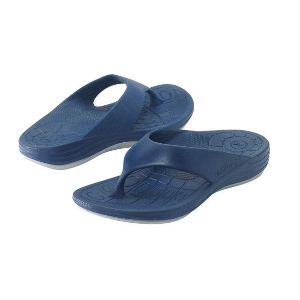 Мъжки ортопедични джапанки цвят син