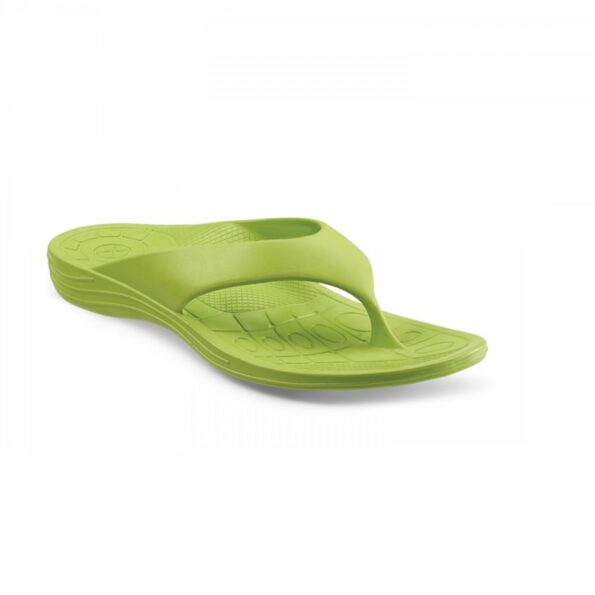 Дамски ортопедични джапанки цвят зелен