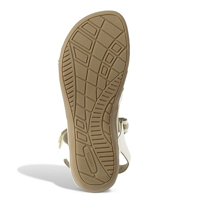 Дамски ортопедични сандали цвят бял