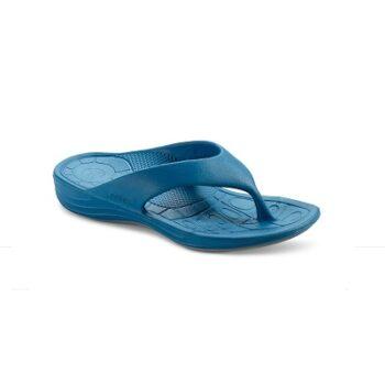 Дамски ортопедични джапанки цвят син