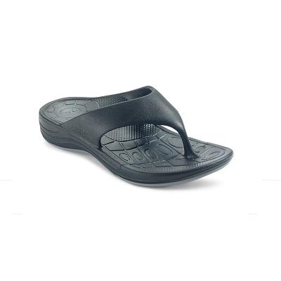 Ортопедични джапанки цвят черен