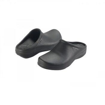 Мъжко ортопедично сабо-клогс цвят черен