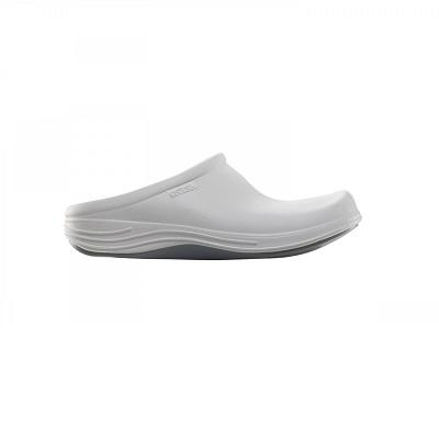 Мъжко ортопедично сабо-клогс цвят бял
