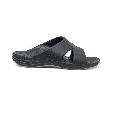 Ортопедични чехли цвят черен
