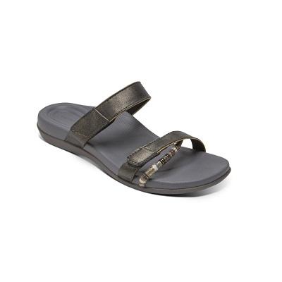 Дамски сандали KORI SLIDE - цвят сив