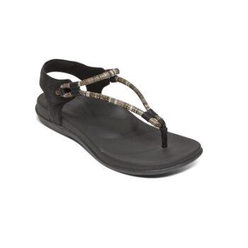 Дамски сандали BAILEY SLINGBACK - цвят черен