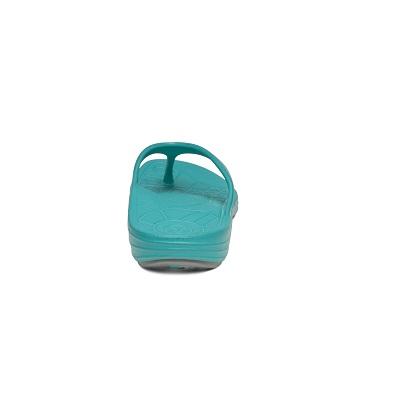 Дамски джапанки Lynco Flips - цвят аква