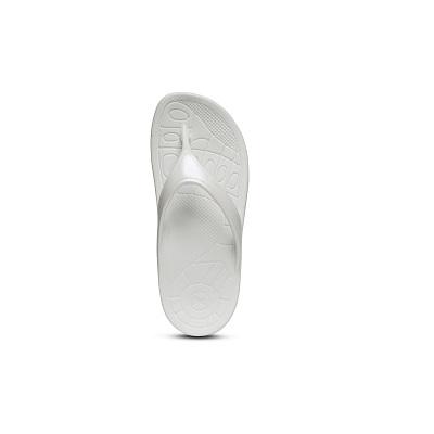 Дамски джапанки Lynco Slim Flip - бял цвят