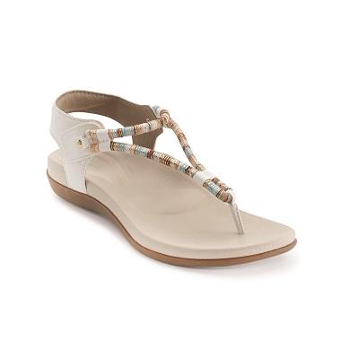Дамски сандали BAILEY SLINGBACK - цвят бял