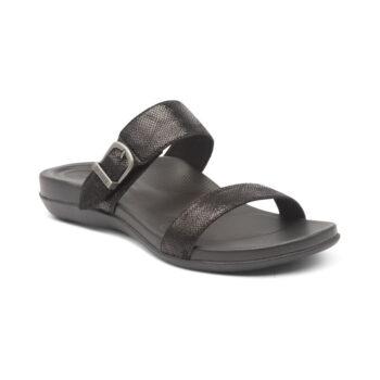 Дамски чехли MIMI SLIDE - цвят черен