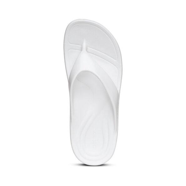 Дамски джапанки Lynco Flip - бял цвят