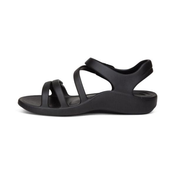 Удобни дамски сандали JILLIAN цвят - черен