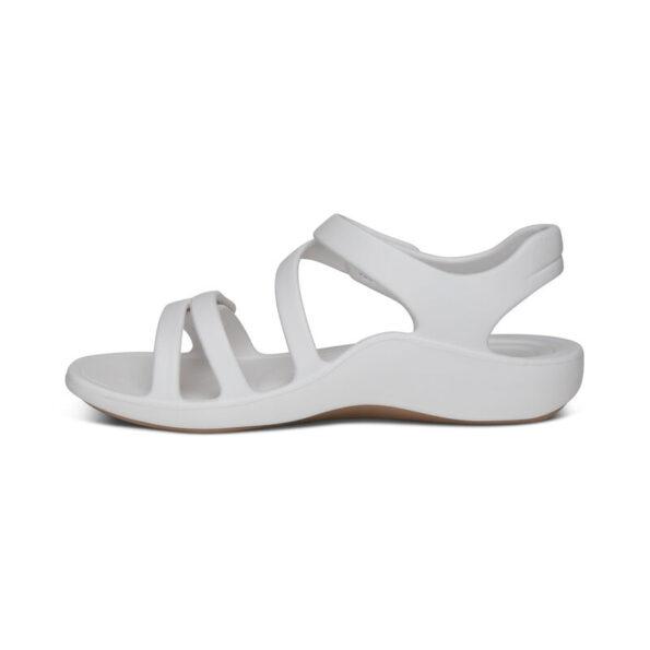 Удобни дамски сандали JILLIAN SPORT цвят - бял